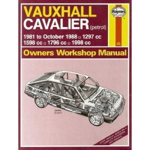 Vauxhall Cavalier 1981-88 Owner's Workshop Manual