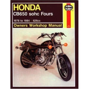 Honda CB650 Fours Owner's Workshop Manual (Motorcycle Manuals)