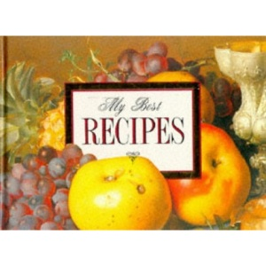 My Best Recipes (Record Book)