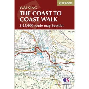 The Coast to Coast Walk Map Booklet (1:25,000 route map): 1:25,000 OS Route Map Booklet