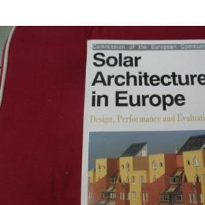 Solar Architecture in Europe