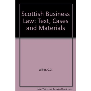 Scottish Business Law: Text, Cases and Materials