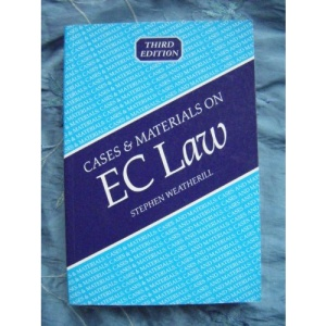 Cases and Materials on EC Law (Blackstones LLB Cases & Materials)