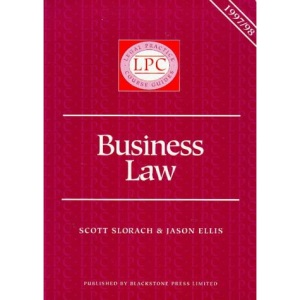 Business Law 1997-98 (Legal Practice Course Guides)