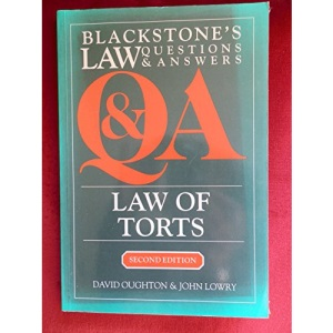 Law of Torts (Law Questions & Answers)