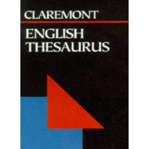 English Thesaurus (Claremont Pocket Reference Library)