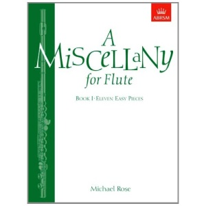 A Miscellany for Flute: Bk. 1: Eleven Easy Pieces