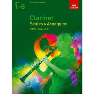 :Scales and Arpeggios for Clarinet Grades 1-8