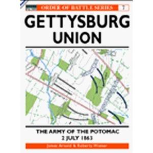 Gettysburg: Union: The Army of Potomac, 2 July 1863 (Osprey Order of Battle)