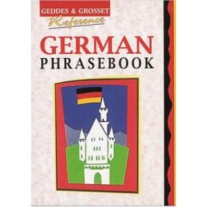 German Phrase Book (Geddes & Grosset reference)
