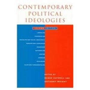 Contemporary Political Ideologies