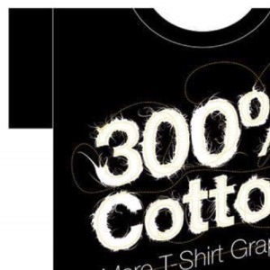 300% Cotton: More T-Shirt Graphics