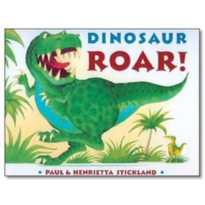 Dinosaur Roar PB & CD (Book & CD)