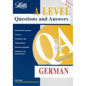 A Level Questions and Answers: German (with Audio CD)