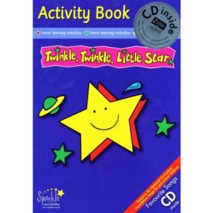 Twinkle Twinkle Little Star (Activity Book & CD)