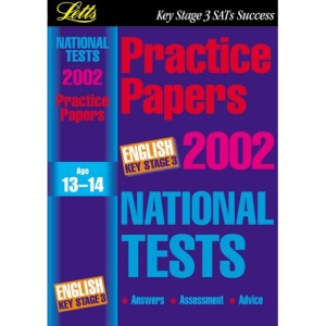 National Test Practice Papers 2002: English Key stage 3 (Key Stage 3 National Tests)