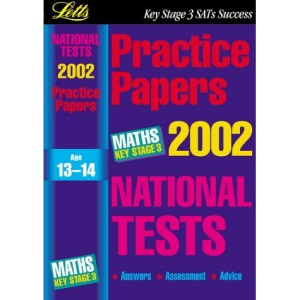 National Test Practice Papers 2002: Maths Key stage 3 (Key Stage 3 National Tests)