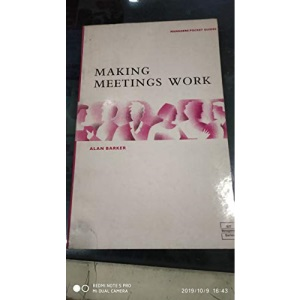 Making Meetings Work (Manager's Pocket Guides)