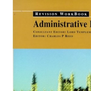 Administrative Law: Revision Workbook (Revision Workbooks)