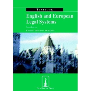 English and European Legal Systems (Textbook)