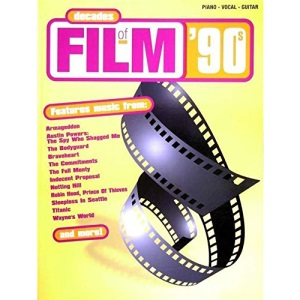 Decades of Film: '90s (Film & TV)-Piano/Vocal & Guitar-Music Book