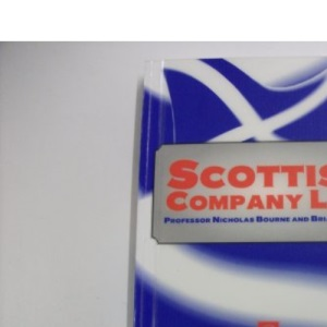 Scots Company Law (Lecture notes)