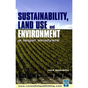 Sustainability, Land Use and the Environment