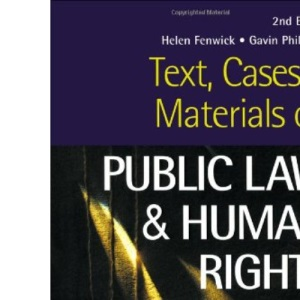 Text, Cases and Materials on Public Law and Human Rights (Sourcebook S)