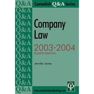 Company Law Q&A 2003-2004 (Questions & Answers)