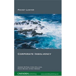 Corporate Insolvency (Pocket Lawyer)