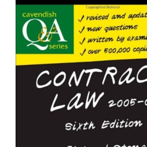 Contract Law Q&A (Questions & Answers)