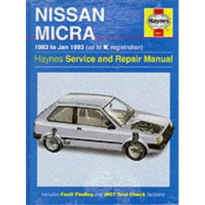 Nissan Micra Service and Repair Manual (Haynes Service and Repair Manuals)