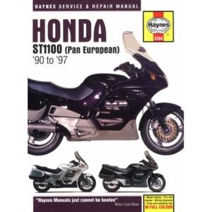 Honda ST1100 Pan European (90-97) Service and Repair Manual (Haynes Service and Repair Manuals)