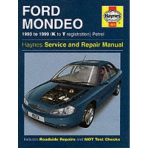 Ford Mondeo Service and Repair Manual (Haynes Service and Repair Manuals)
