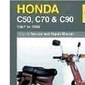Honda C50, C70 and C90 (1967-99) Service and Repair Manual (Haynes Service and Repair Manuals)