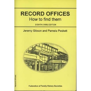 Record Offices: How to Find Them