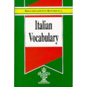 Italian Vocabulary (Brockhampton Reference Series (Bilingual))