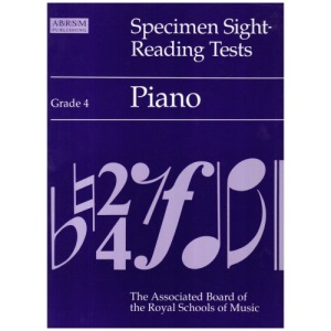 Specimen Sight-reading Tests: Grade 4: Piano