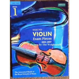 Selected Violin Examination Pieces 2005-2007: Grade 1