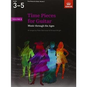 Time Pieces for Guitar: v. 2