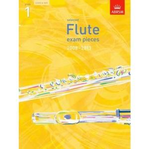 Selected Flute Exam Pieces 2008-2013, Grade 1, Score & Part (ABRSM Exam Pieces)