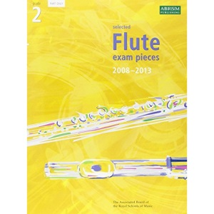 Selected Flute Exam Pieces 2008-2013: Grade 2 Part ONLY: Grade 2 Part
