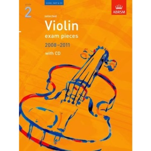 Selected Violin Exam Pieces 2008-2011: Grade 2 Score, Part and CD