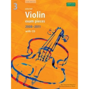 Selected Violin Exam Pieces 2008-2011: Grade 3 Score, Part and CD