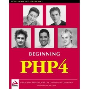 Beginning PHP4 Programming