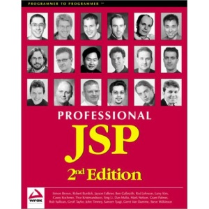 Professional JSP 2nd Edition