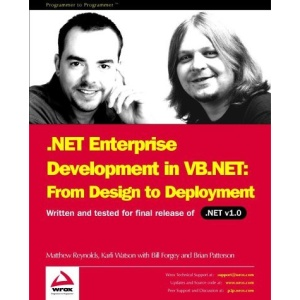 NET Enterprise Development in VB .NET: From Design to Deployment