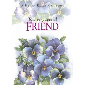 To a Very Special Friend (To-Give-and-to-Keep)