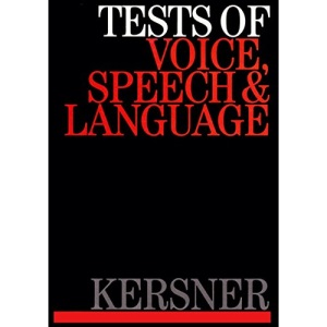 Tests in Speech, Voice and Language
