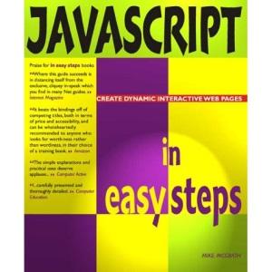 Javascript In Easy Steps (In Easy Steps Series)